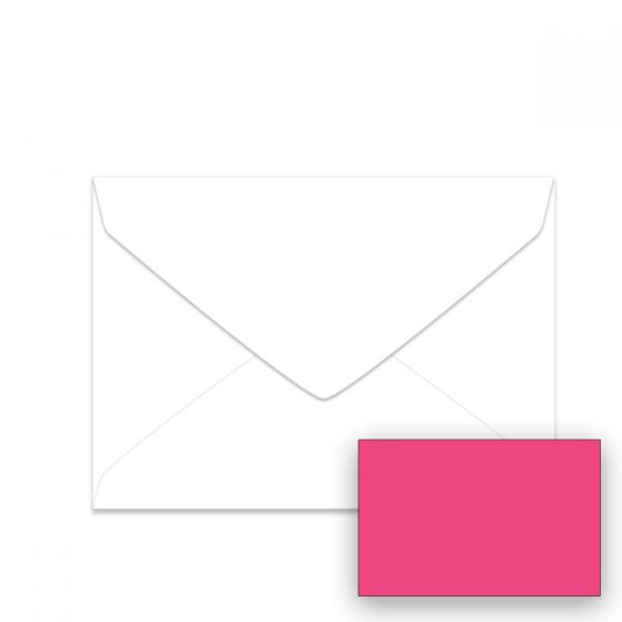 Neenah Plasma Pink (1) Envelopes  Offered by PaperPapers