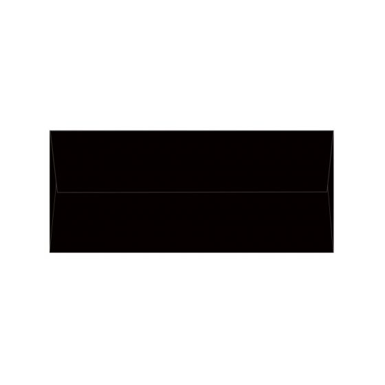 Plike BLACK #10 Square Flap Envelopes (4.125-x-9.5-inches) - 2000 PK