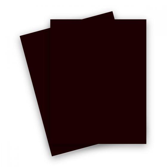 Plike (Plastic-Like) Paper - 8.5 x 11 - BROWN - 122LB COVER - 25 PK