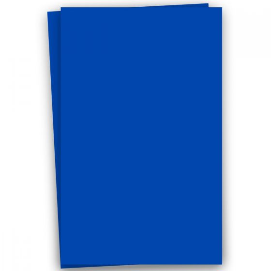 Plike (Plastic-Like) Paper - 12 x 18 - ROYAL BLUE - 122LB COVER - 100 PK