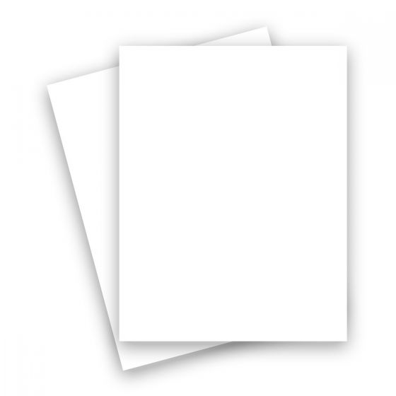 Plike (Plastic-Like) Paper - 8.5 x 11 - WHITE - 95LB TEXT - 250 PK