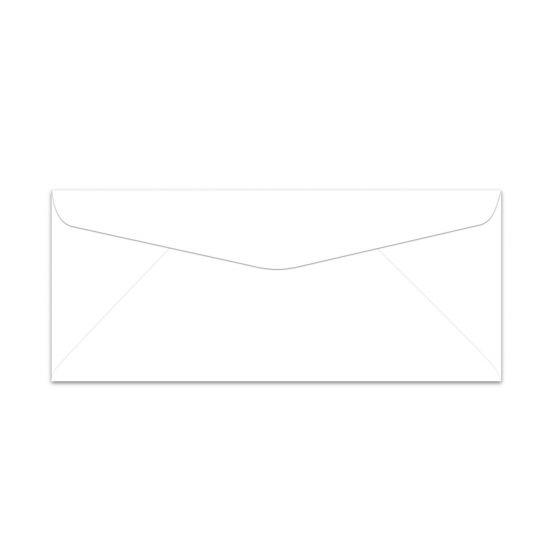 Plike WHITE #10 Commercial Envelopes (4.125-x-9.5-inches) - 2000 PK