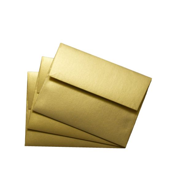 FAV Shimmer Pure Gold (6) Envelopes Available at PaperPapers