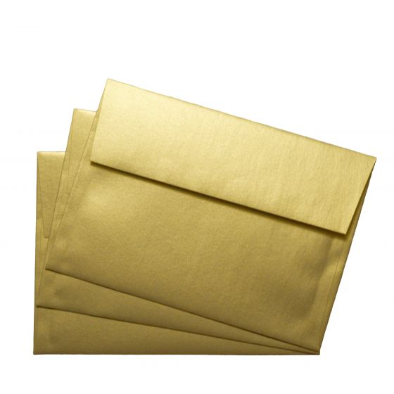 FAV Shimmer Pure Gold (5) Envelopes Offered by PaperPapers