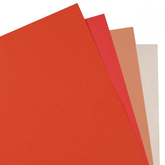 Crafters Pure Hues - Shades of CORAL - (Text) MIX Finish (4 colors / 5 each) - 20 PK