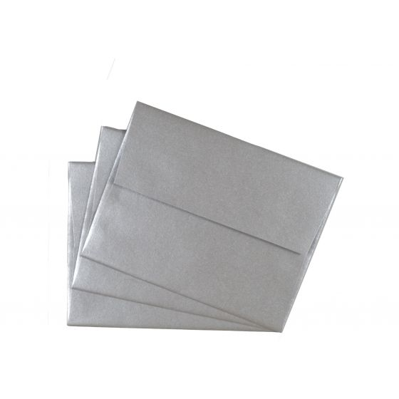 FAV Shimmer Pure Silver (3) Envelopes Offered by PaperPapers
