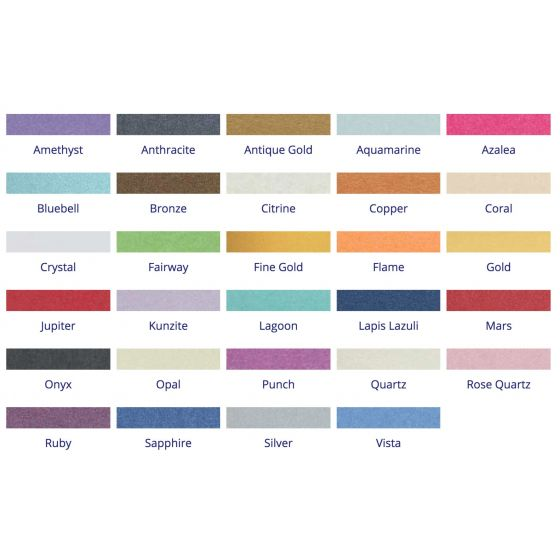 Stardream Metallic - 8.5X11 Text Paper -  81lb Text (120gsm) - PER SHEET