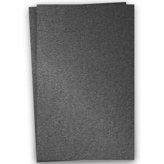 Stardream Metallic - 12X18 Card Stock Paper - ANTHRACITE - 105lb Cover (284gsm) - 100 PK