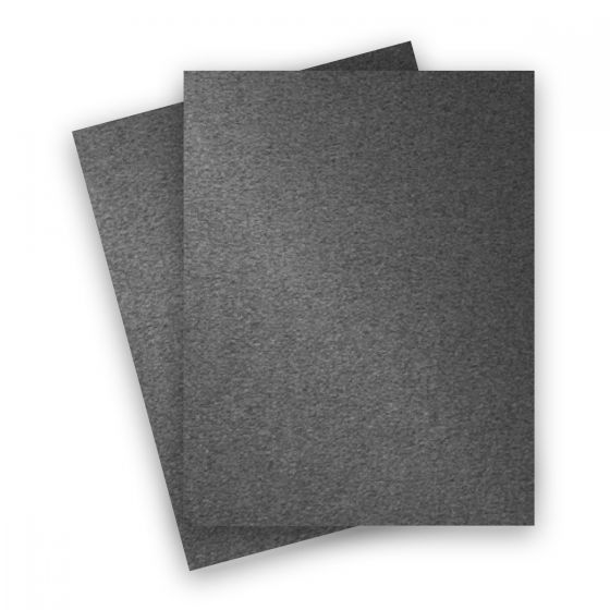 Stardream Metallic - 8.5X11 Paper - ANTHRACITE - 81lb Text (120gsm) - 25 PK