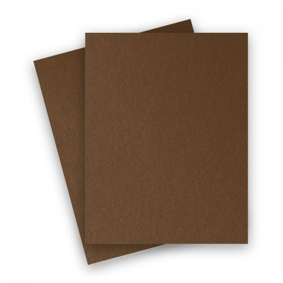 Stardream Metallic - 8.5X11 Card Stock Paper - BRONZE - 105lb Cover (284gsm) - 25 PK