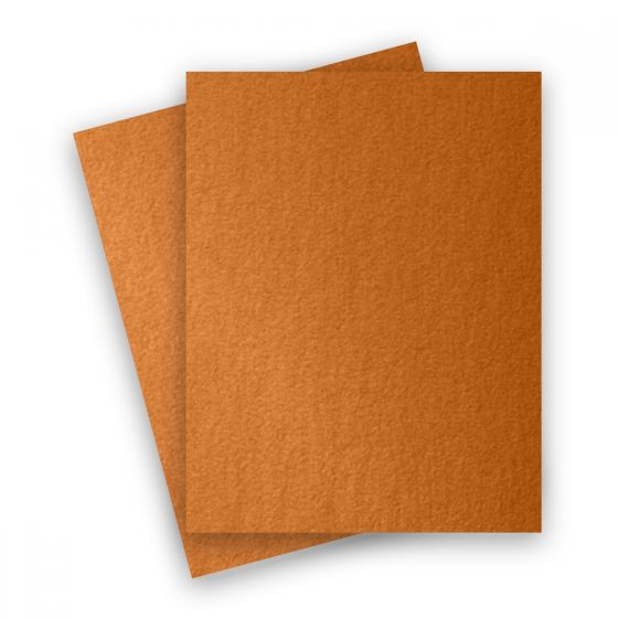 Stardream Metallic - 8.5X11 Card Stock Paper - COPPER - 105lb Cover (284gsm) - 250 PK
