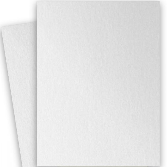 Stardream Metallic - 28X40 Full Size Paper - CRYSTAL - 105lb Cover (284gsm) - 100 PK