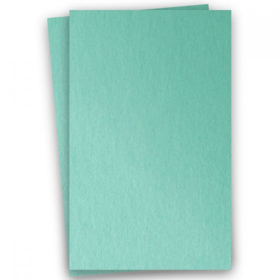 Stardream Metallic 11X17 Card Stock Paper - LAGOON - 105lb Cover (284gsm) - 100 PK