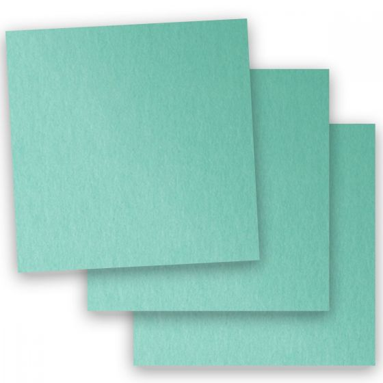 Stardream Metallic - 12X12 Card Stock Paper - LAGOON - 105lb Cover (284gsm) - 100 PK