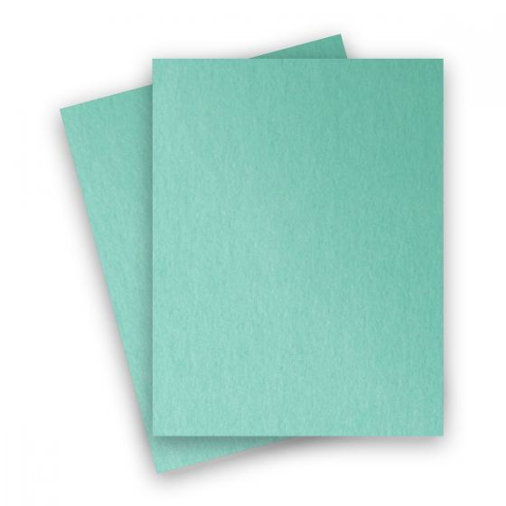 Stardream Metallic - 8.5X11 Card Stock Paper - LAGOON - 105lb Cover (284gsm) - 250 PK