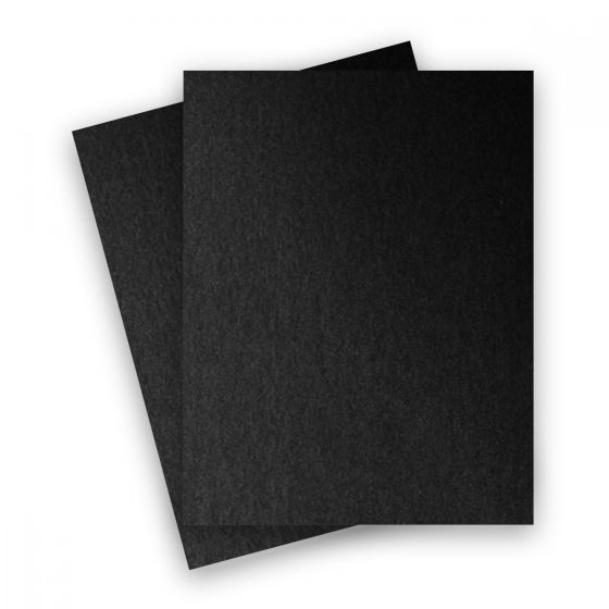 Stardream Metallic - 8.5X11 Card Stock Paper - ONYX - 105lb Cover (284gsm) - 250 PK
