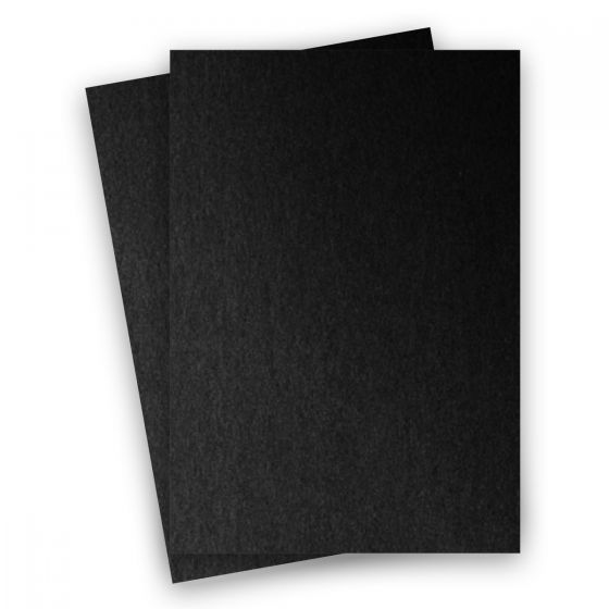 Stardream Metallic - 8.5X14 Legal Size Card Stock Paper - Onyx - 105lb Cover (284gsm) - 150 PK