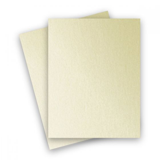 Stardream Metallic - 8.5X11 Card Stock Paper - OPAL - 105lb Cover (284gsm) - 25 PK