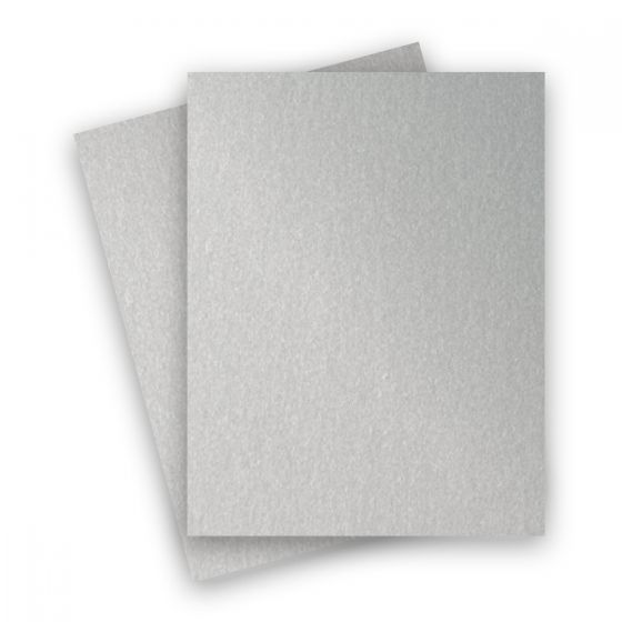 Stardream Metallic - 8.5X11 Card Stock Paper - SILVER - 105lb Cover (284gsm) - 250 PK