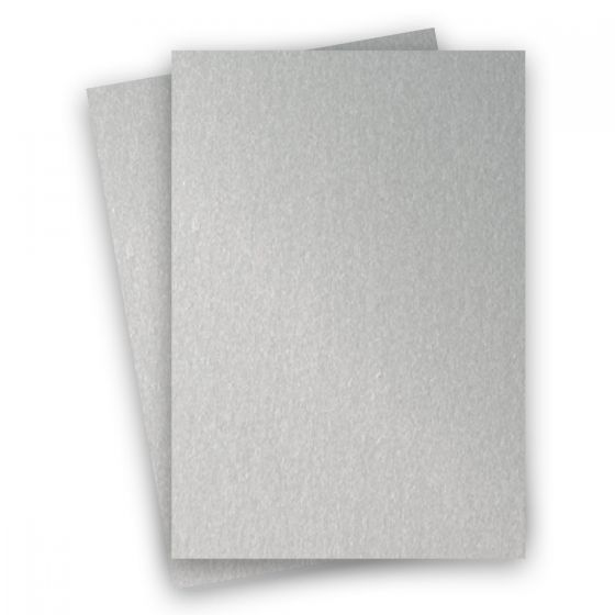 Stardream Metallic - 8.5X14 Legal Size Card Stock Paper - Silver - 105lb Cover (284gsm) - 150 PK