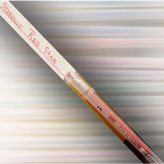 [Clearance] Gelly Roll Glitter Pens - STARDUST Red-star (XPGB719)