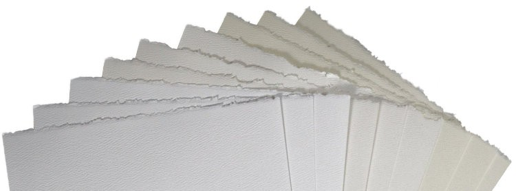 Deckled paper