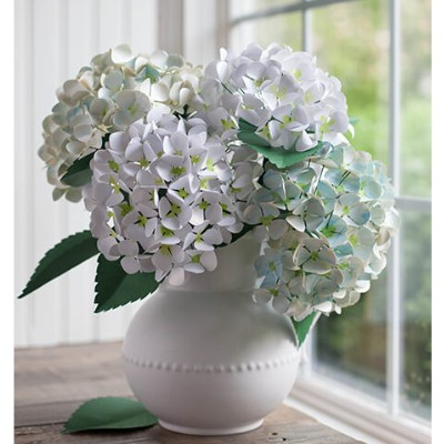 Paper Hydrangea Bloom