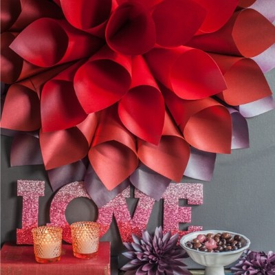 Paper Starburst Wall Art