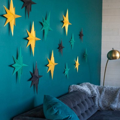 Wall of Stars Paper Project by Lia